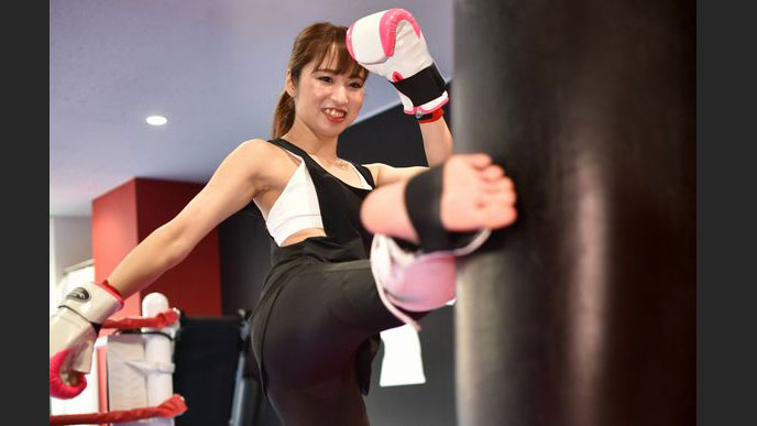ボクシング 札幌 キック